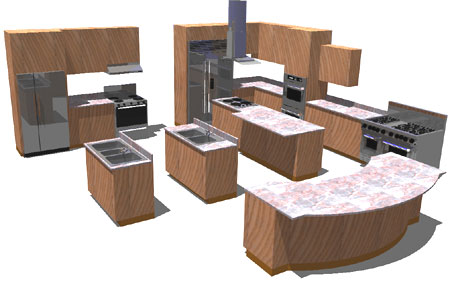 Adt kitchen cabinets instructions for Autocad kitchen cabinets