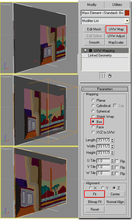 Adding Artwork to Architectural Desktop Renderings